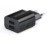 Зарядний пристрій REAL-EL CH-210 USB (2 х USB)