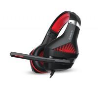 Наушники REAL-EL GDX-7600 игровые с микрофоном 4pin + PC