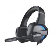 Наушники REAL-EL GDX-7620 игровые с микрофоном 4pin + PC