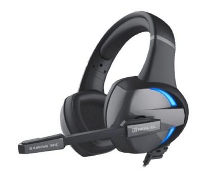 Навушники REAL-EL GDX-7620 ігрові з мікрофоном 4pin + PC