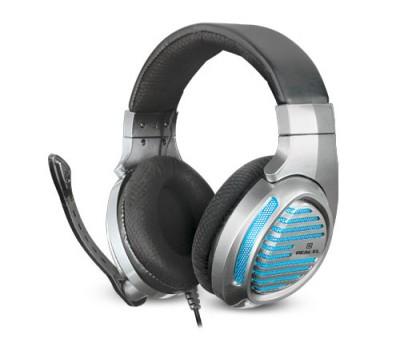Наушники REAL-EL GDX-7670 игровые с микрофоном с подсветкой 4pin + PC