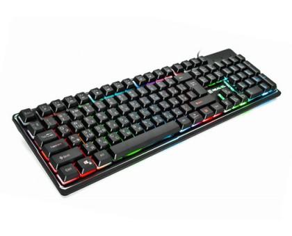 Клавіатура REAL-EL Comfort 7011 Backlit USB ігрова з підсвічуванням