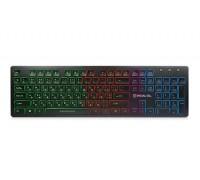Клавиатура REAL-EL Comfort 7070 Backlit USB черная с подсветкой