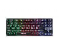 Клавиатура REAL-EL Gaming 8710 TKL Backlit USB игровая с подсветкой