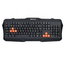 Клавиатура REAL-EL Gaming 8400 USB игровая черная