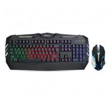 Клавіатура + мишка REAL-EL Gaming 9500 Kit Backlit ігрові з підсвічуванням