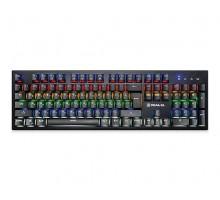 Клавиатура REAL-EL M14 Backlit USB механическая игровая с подсветкой