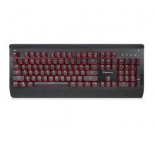 Клавиатура REAL-EL M15 Backlit USB механическая игровая с подсветкой