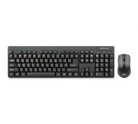 Клавиатура + мышка REAL-EL Standard 503 Kit черные