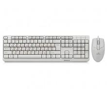 Клавиатура + мышка REAL-EL Standard 505 Kit белые