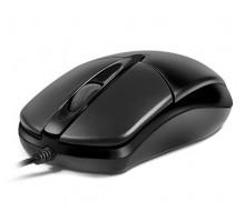 Мышка REAL-EL RM-211 USB черная