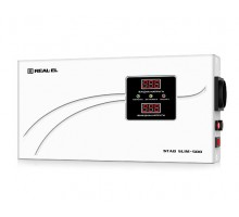Стабілізатор напруги REAL-EL STAB SLIM-500 (УЦІНКА)