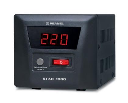Стабилизатор напряжения REAL-EL STAB-1000 уценка