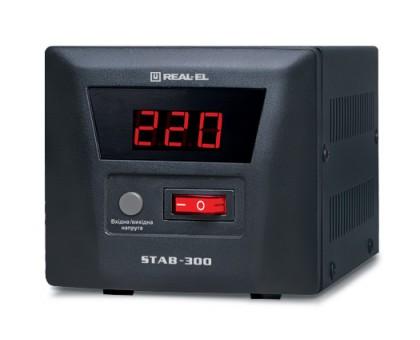 Стабилизатор напряжения REAL-EL  STAB-300