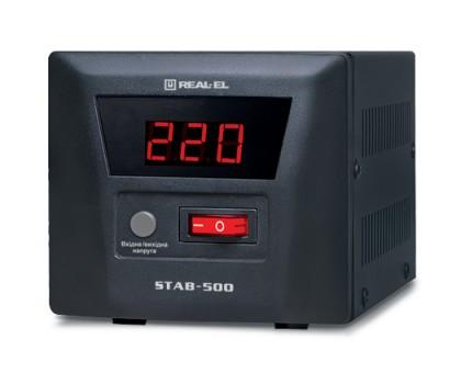 Стабилизатор напряжения REAL-EL STAB-500 УЦЕНКА