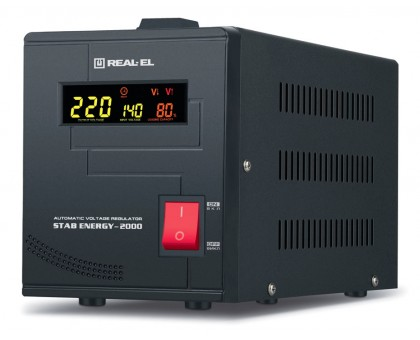 Стабилизатор напряжения REAL-EL STAB ENERGY-2000