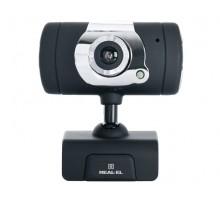 Веб-камера REAL-EL FC-225 з мікрофоном